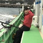 Y.  初の海釣り!